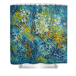 Inflorescence 2 Shower Curtain
