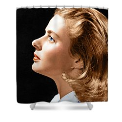 Shower Curtain featuring the photograph Ingrid Bergman by Granger