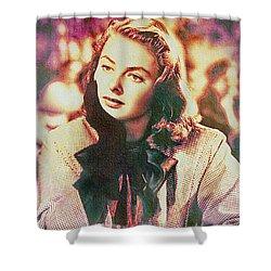 Ingrid Bergman - Movie Legend Shower Curtain