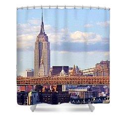 Inhabited Sculpture Shower Curtain by Mitch Cat