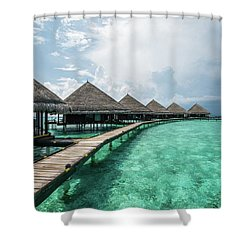 Shower Curtain featuring the photograph Inhale by Hannes Cmarits