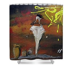 Inicios Shower Curtain
