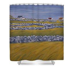 Inish Mor Shower Curtain