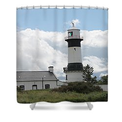 Inishowen Lighthouse Shower Curtain