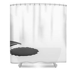 Ink Blot. Shower Curtain