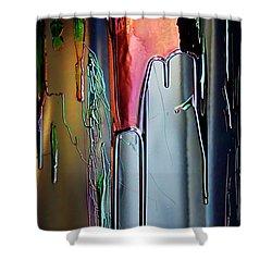 Ink Drum Shower Curtain