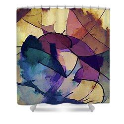 Ink Pie Shower Curtain