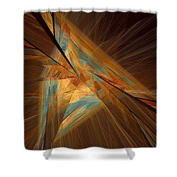 Inlaid Shower Curtain
