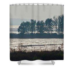 Inlet On Lake Michigan Shower Curtain