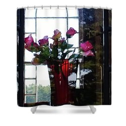 Shower Curtain featuring the photograph Inner Beauty by Tom Vaughan
