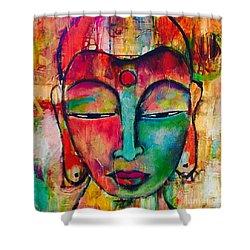Inner Buddha  Shower Curtain