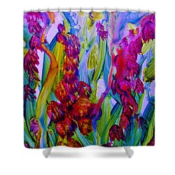 Inner Earth Garden Shower Curtain