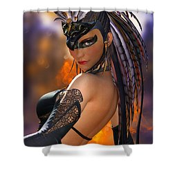 Inner Flame Shower Curtain