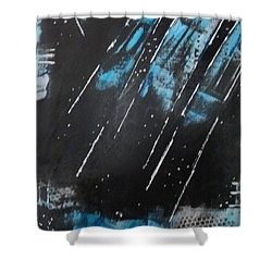 Inner Flight Shower Curtain