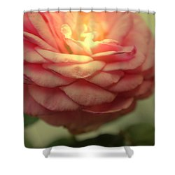 Inner Glow Shower Curtain