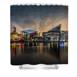 Inner Harbour  Shower Curtain