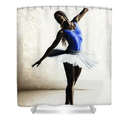 Inner Peace Shower Curtain by Richard Young