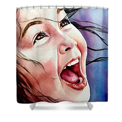 Inner Radiance Shower Curtain