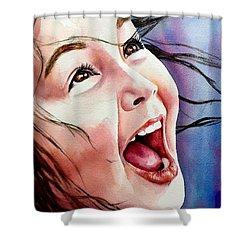 Inner Radiance Shower Curtain