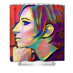 Inner Vision Shower Curtain