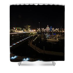 Inner Harbour Of Victoria Bc Shower Curtain