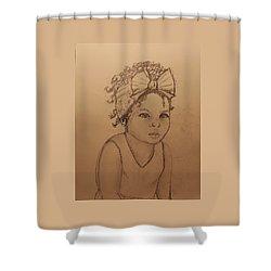 Sugar Baby ... Drawing Shower Curtain