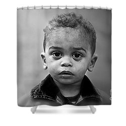 Innocence Shower Curtain by Charuhas Images