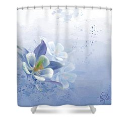 Innocence  Shower Curtain by Colleen Taylor
