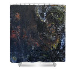 Innocence Lost Shower Curtain by Christophe Ennis