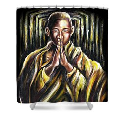 Inori Prayer Shower Curtain