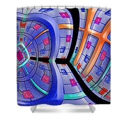 Inroads Shower Curtain by Paul Wear