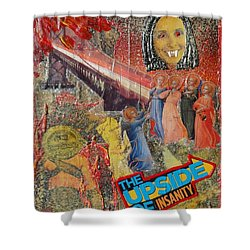 Insainity Shower Curtain