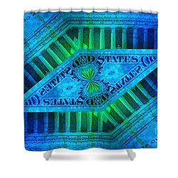 Insanity Shower Curtain by Chad and Stacey Hall