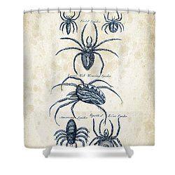 Insects - 1792 - 18 Shower Curtain by Aged Pixel