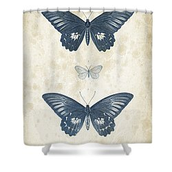 Insects - 1832 - 01 Shower Curtain by Aged Pixel