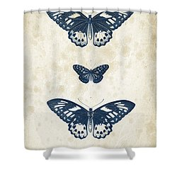 Insects - 1832 - 04 Shower Curtain by Aged Pixel