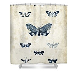 Insects - 1832 - 05 Shower Curtain by Aged Pixel