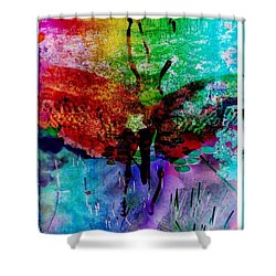 Insects And Incense Shower Curtain