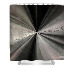 Inside A Steel Pipe Shower Curtain