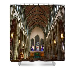 Inside Christchurch Cathedral Shower Curtain