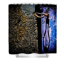Shower Curtain featuring the photograph Inside by Edgar Laureano