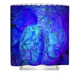 Inside My World IIi Shower Curtain
