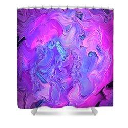 Inside My World Iv Shower Curtain