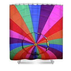 Inside Out Shower Curtain by Marie Leslie