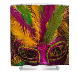 Shower Curtain featuring the photograph Inside The Masquerade by Julie Andel