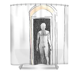 Insomnia 2 Shower Curtain by Stan Magnan