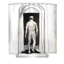 Insomnia 3 Shower Curtain by Stan Magnan