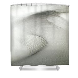Inspiration Comes Standard Shower Curtain