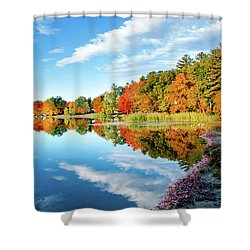 Shower Curtain featuring the photograph Inspiration by Greg Fortier