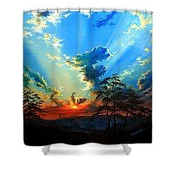 Inspiration Shower Curtain by Hanne Lore Koehler